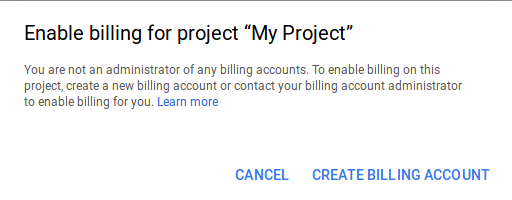 Habilitar el proyecto en Google Maps