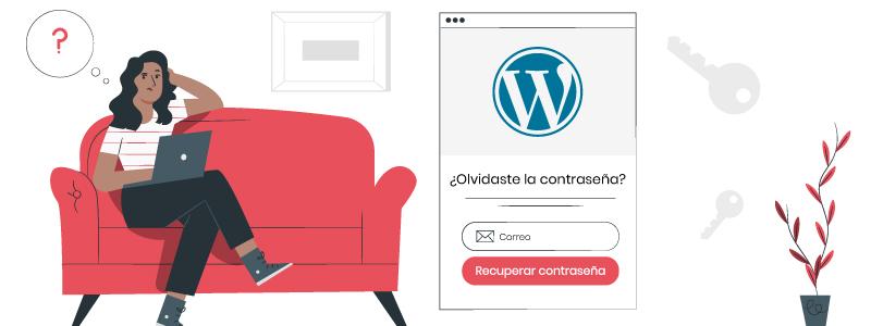 ¿Cómo recuperar acceso a WordPress sin correo electrónico?