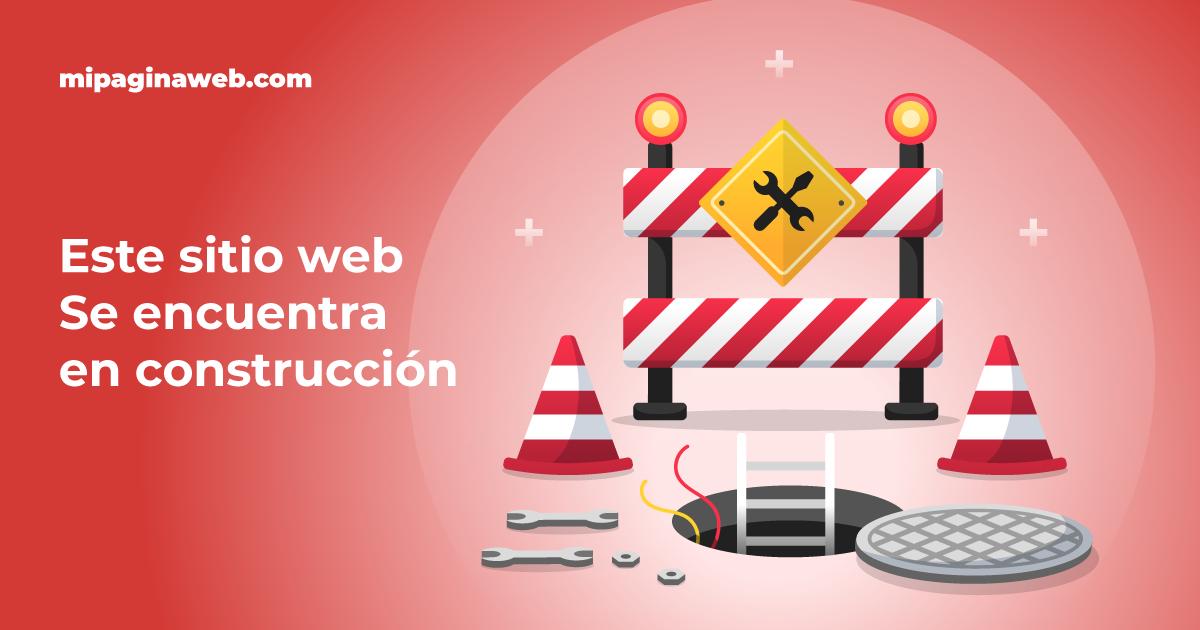 Cómo crear una página en construcción en el Constructor de Sitios Plus