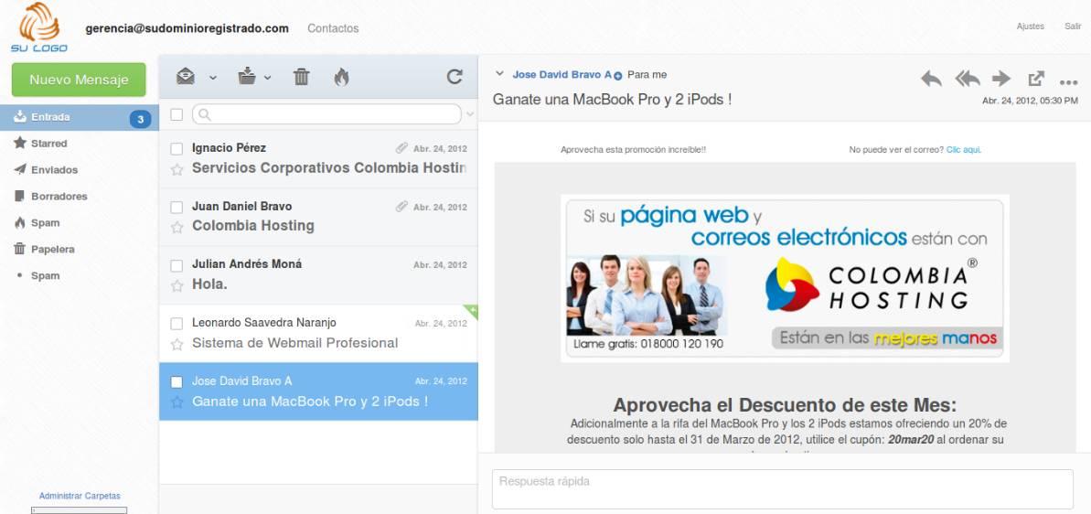 Webmail Pro